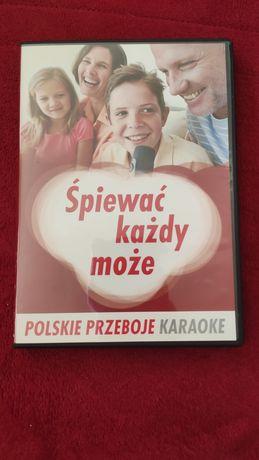 Śpiewać każdy może. Polskie przeboje karaoke. 3 płyty DVD