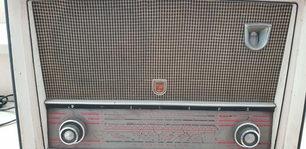 Philips rádio antigo