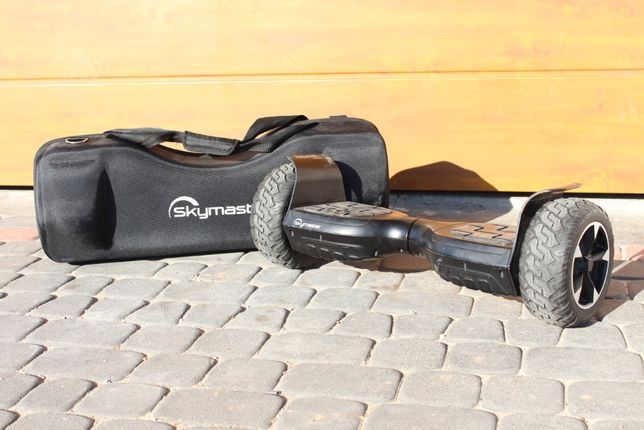 Skymaster DUAL offroad hoverboard terenowy + Etui