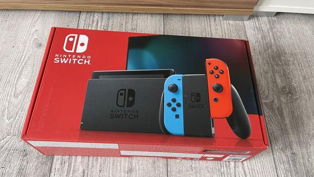 Nintendo Switch V2.NOWA.Gwarancja.Wysyłka