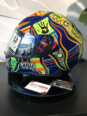 Kask AGV K-3 SV Five Continents `XS `S `MS `ML `XL