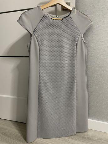 Продам платье с кожаными вставками Love Republic