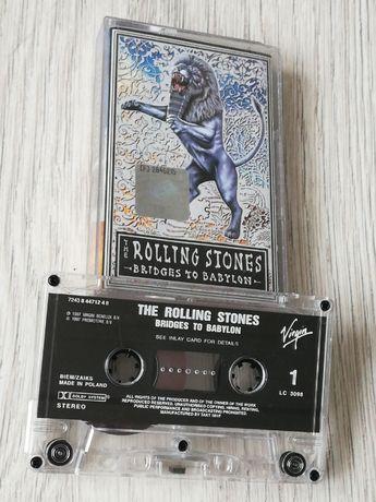 Rolling Stones - Bridges to Babylon. Kasety hard rock blues
