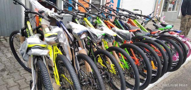 Спортивний велосипед,детские и взрослие.