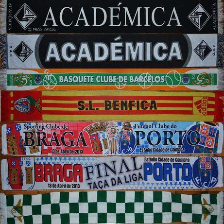 Coleção Cachecóis futebol