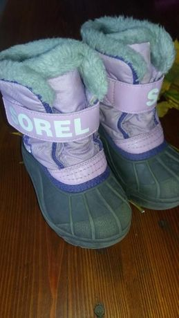 Теплые сапожки Sorel