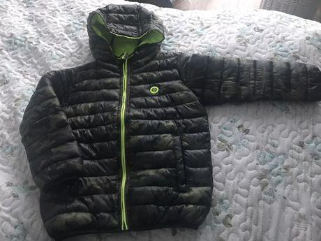 Pikowana kurtka Reserved 116 przejściówka moro