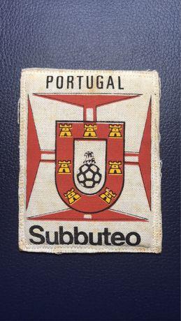 Emblema raro antigo da Federação Portuguesa de Subbuteo