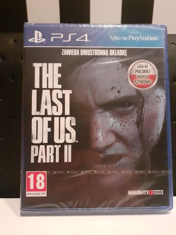 The last of us part II zafoliowna