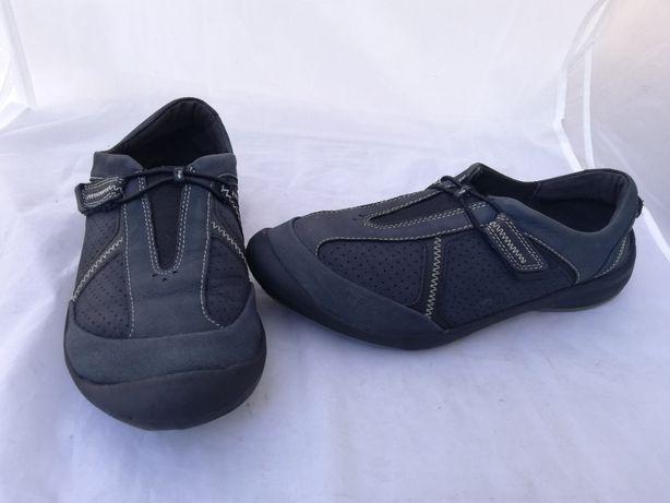 Buty skórzane Clarks UK 6, r. 39,5 wkł 25 cm