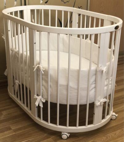 Ingvart (кроватка детская)+матрасик