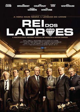 """Poster do Filme verídico """"REI DOS LADRÕES"""" 98x68 (CxL)"""