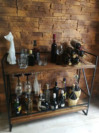 Barek na alkohol STARE DREWNO Loft Rustic Retro HandMade