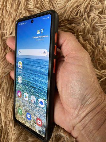 Samsung A 71 + чехол, стекло, Состояние Нового!!!