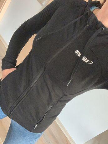 Czarna bluza gym shark