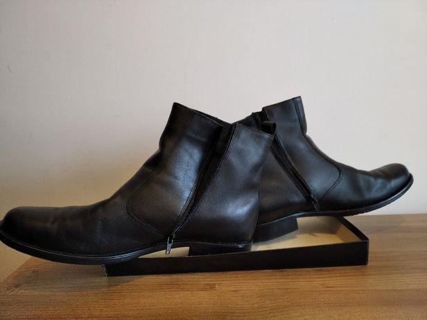 Buty zimowe czarne rozmiar 44 męskie