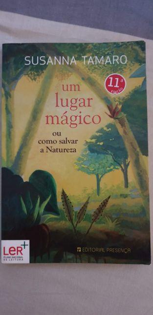 """Livro """"Um lugar mágico"""" de Susanna Tamaro"""