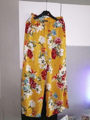 Modne kuloty spodnie  r. 34