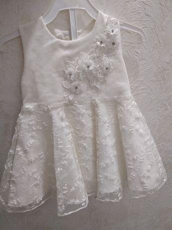 Продам красивое платье на крестины