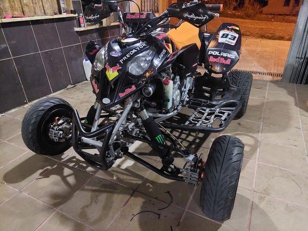 Moto 4 polaris 500 troco por jipe