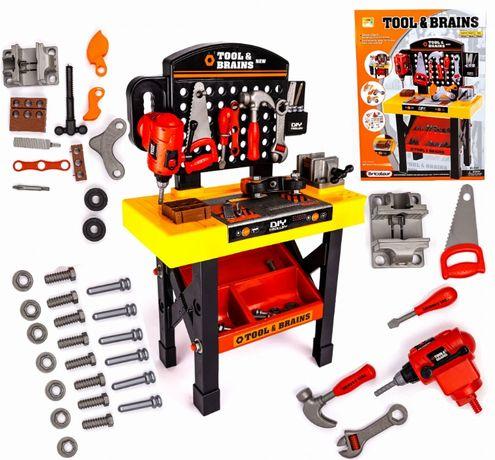 LT07 nowy warsztat dla dzieci z narzędziami zestaw narzędzia landtoys
