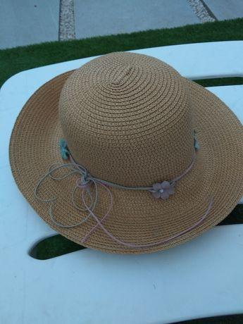 Chapéu de sol  senhora tipo palha .Praia e campo.