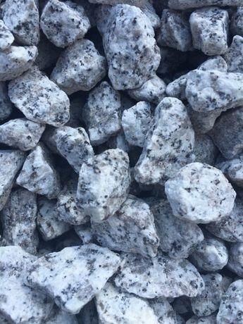 GRANIT GRYS ,biały - kamień granitowy , ozdobny 8-16 ,1 6_22