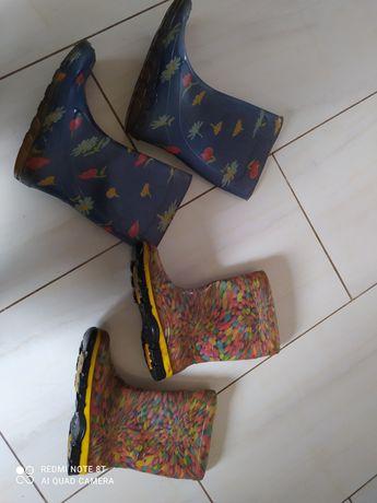 Сапоги резиновые на девочку чоботи резинові на дівчинку