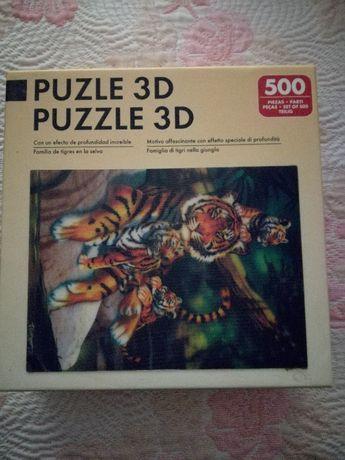 Puzzle 3D 500 peças