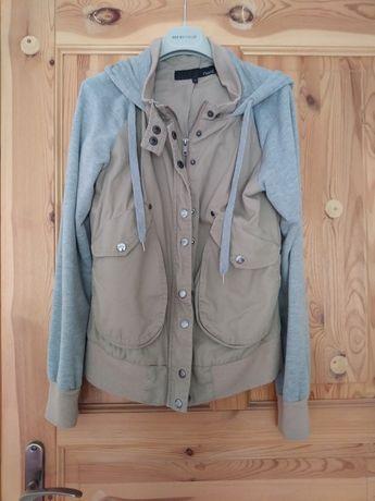 Kurtka jeans dres kaptur M L Next