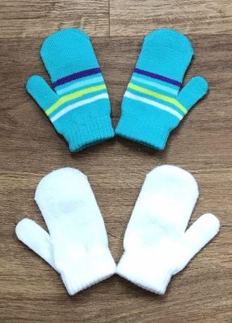 Варежки рукавицы 6-18 месяцев