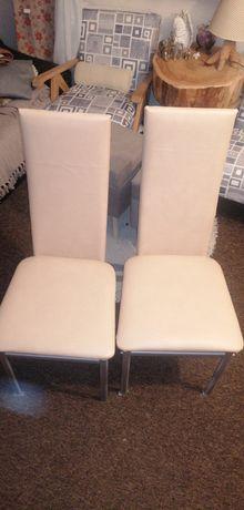 Krzesła z nowym obiciem
