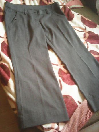 spodnie szare 48