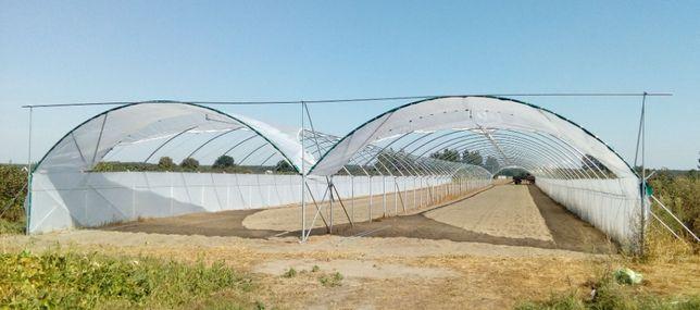 TuDo tunel foliowy - mamy także nietypowe tunele foliowe do upraw