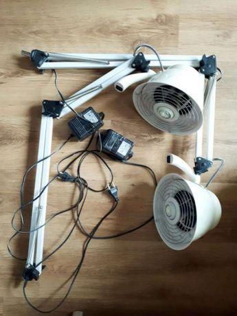 Lampa z pochłaniaczem pyłu