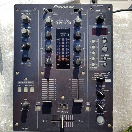Mixer pioneer djm-400 efektor, echo, flanger, doskonały stan