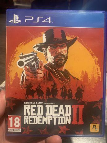 Gra PS4 RED DEAD REDEMPTION 2 II stan perfekt 100% igła