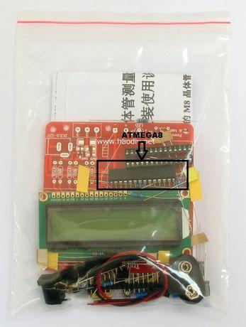 контроллер для ESR тестера atmega8 dip