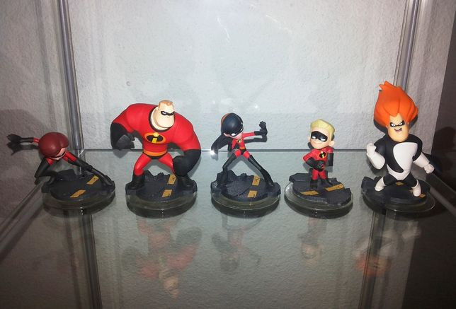 Disney Infinity - Bonecos Figuras - Os Incríveis - The Incredibles