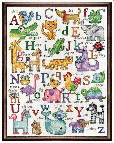 Набор для вышивания Design Works 2852 ABC Sampler