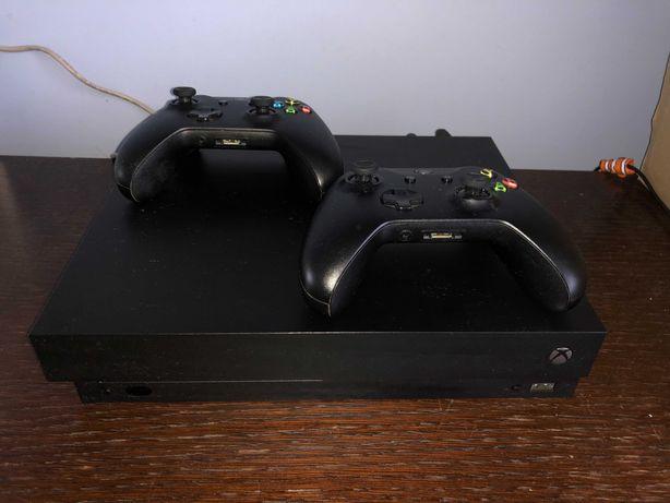 Konsola Microsoft Xbox One X 1 TB, 2 pady