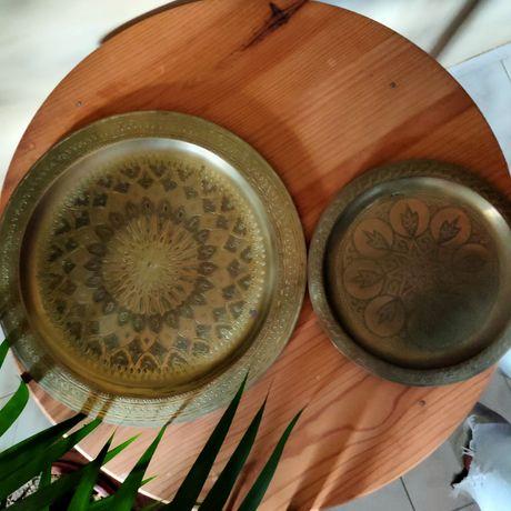 Pratos decoração e jarras