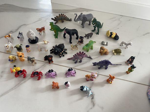 Figurki zwierząt 41 sz różne