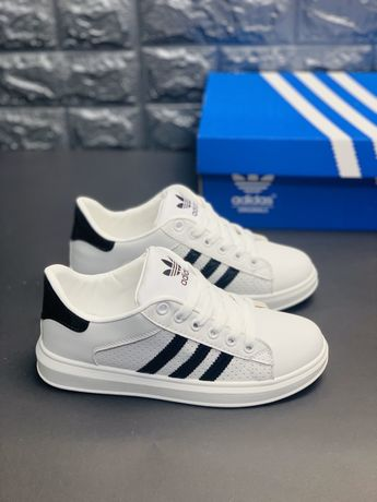 Кроссовки белые Адідас Суперстар/Adidas Super White Киев Топ Самовывоз