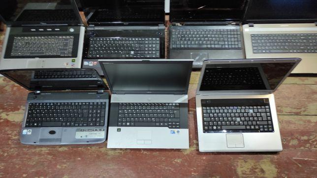 Б/У Ноутбуки ОПТОМ ЛОТ 11 шт.  Покупал в Германии.