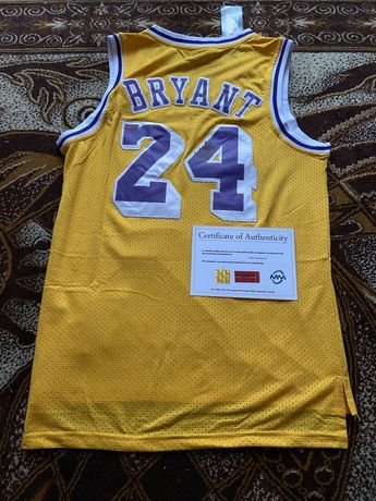 Koszulka Kobe Bryant oryginalny autograf Certyfikat