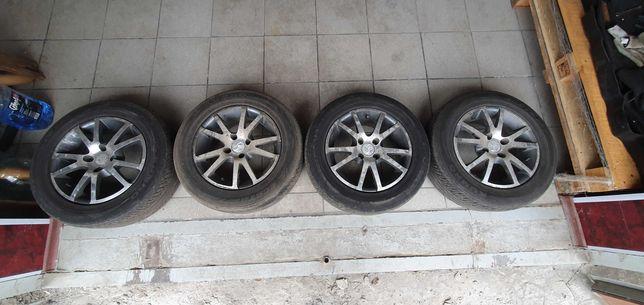 Продам комплект летних колес на дисках r14