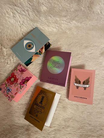 Пробники ароматов Gucci, Kenzo, paco rabanne, Lanvin