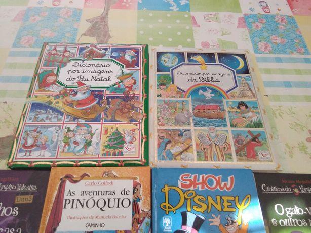 Livros infantis - 9 livros