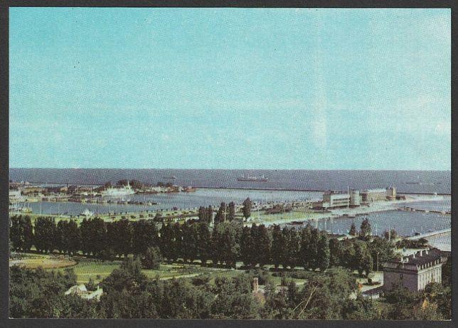 pocztówka Gdynia 1967 - port morski